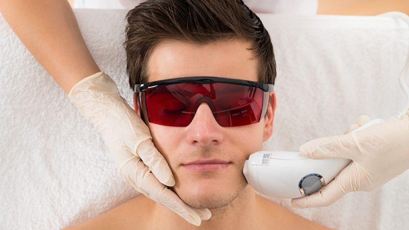 پرکاربردترین ناحیههای لیزر درمانی در مردان