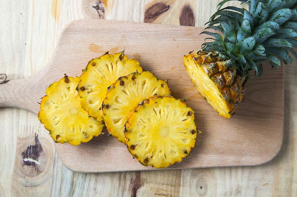 آناناس خوراکیهای چربیسوز شکم