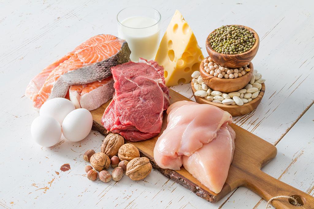ماهی و گوشت بدون چربی چربیسوز شکم