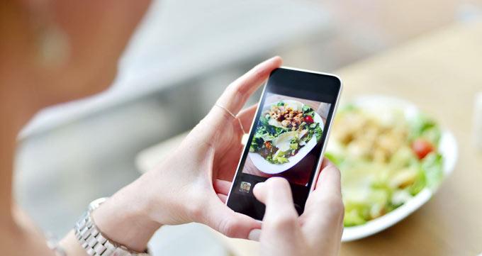 هر روز از وعدههای غذایی خود عکس بگیرید