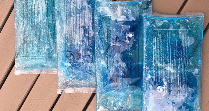 استفاده از کمپرس یخ بعد از عمل جراحی پلاستیک