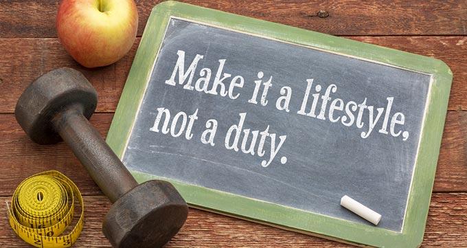 تغییر شیوه زندگی پس از عمل لاغری