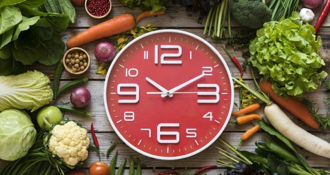 فواید زمانبندی وعدههای غذایی
