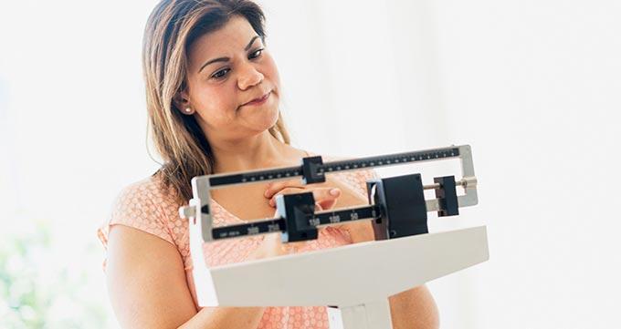افرادی که وزن ثابتی دارند