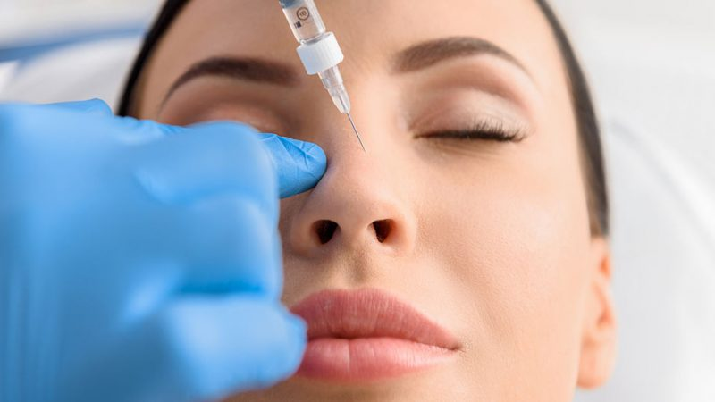 لیفت بینی با تزریق ژل (رینوپلاستی تزریقی)