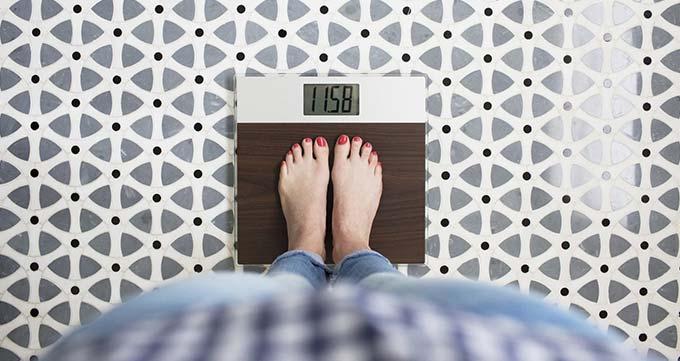بر روی وزن هدف خود ثابت بمانید