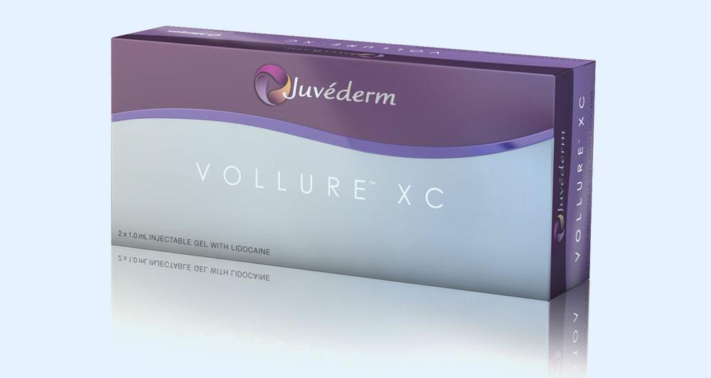 درمان خط خنده با Juvéderm Vollure XC