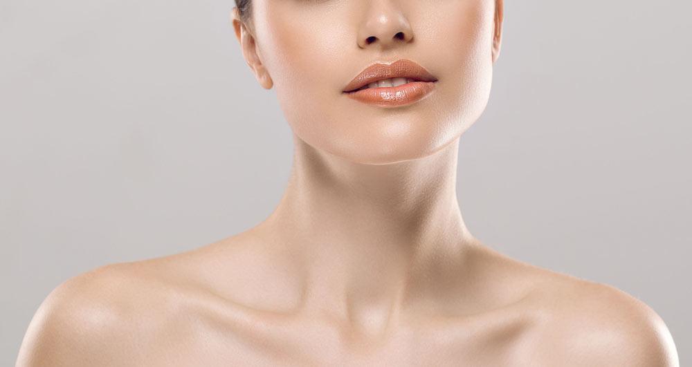 جوانسازی پوست گردن با تزریق ژل