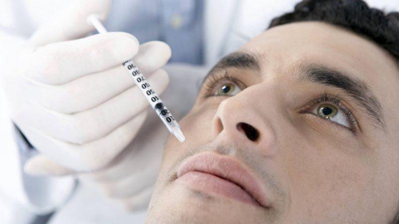 حساسیت به تزریق ژل