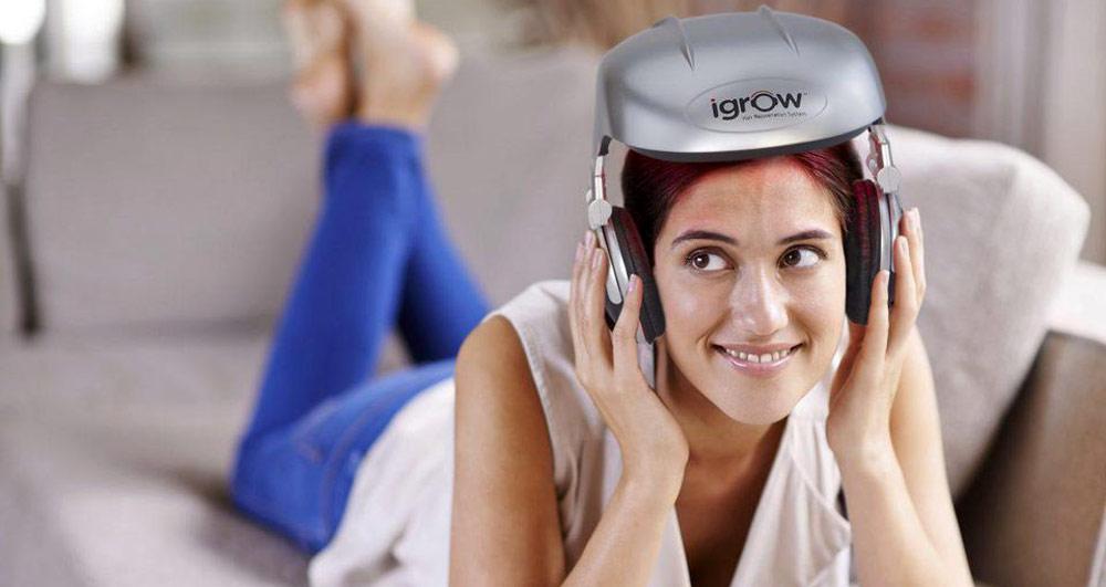 درمان ریزش مو با تکنولوژی iGrow