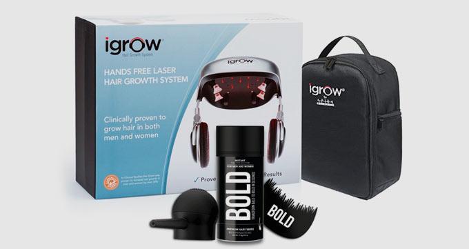 عملکرد کاشت مو لیزری iGrow