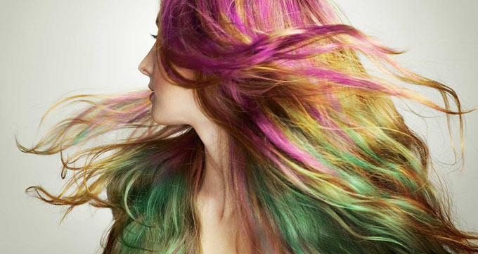 رنگ مو نشانه تراکم مو است