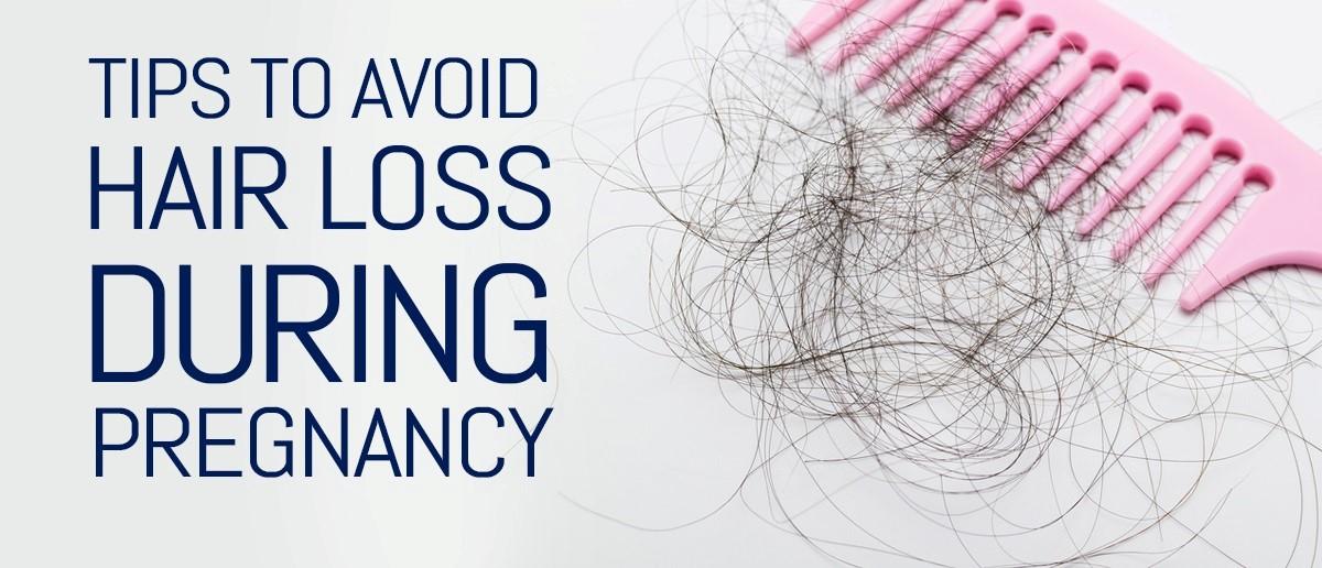 کاهش ریزش مو در دوران بارداری