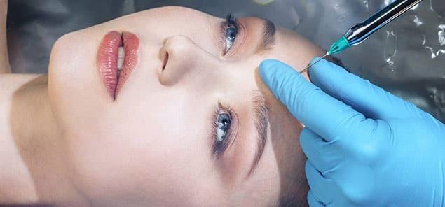 افتادگی پلک پس از تزریق بوتاکس در پیشانی
