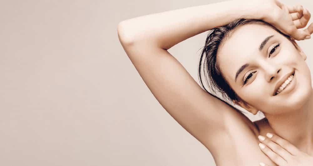 رفع و درمان سیاهی و تیرگی زیر بغل