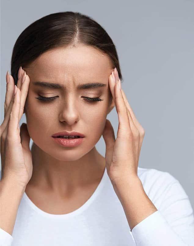 درمان سر درد بعد از بوتاکس